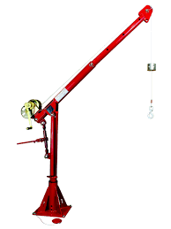 davit cranes thern portable davit cranes by crane authority