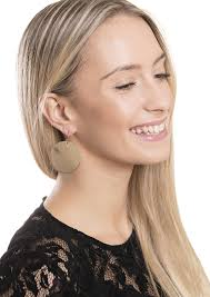 big ear rings images Big circle earrings gold happiness boutique jpg