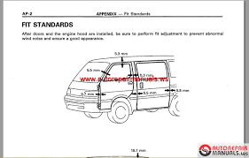 toyota hiace 1989 2004 workshop manual auto repair manual forum