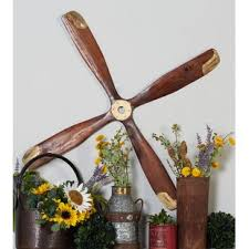 wooden airplane propeller ceiling fan airplane propeller wayfair