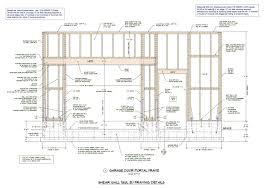 14 garage door size frame technical details up and over hormann