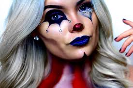 american horror story freak show circus makeup tutorual youtube