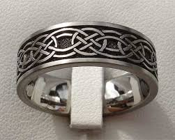titanium celtic wedding bands mens celtic wedding bands titanium weddingsabeautiful