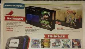 amazon 3ds bundle black friday nintendo 3ds limited edition zelda nintendo 3ds heading to north