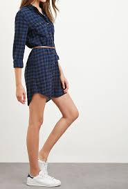 forever 21 belted gingham shirt dress you u0027ve been added to the