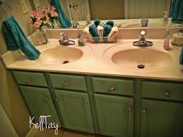 bathroom vanity makeover with annie sloan chalkpaint saving 4 six