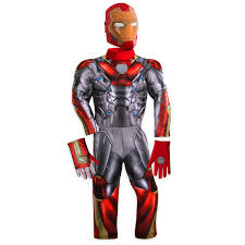 Light Halloween Costumes Iron Man Light Costume Kids Spider Man Homecoming