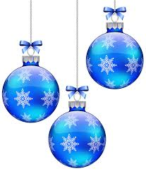 ornaments clipart blue pencil and in color