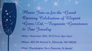 Invitation Card For Grand Opening Grand Opening Celebration My Edmonds News