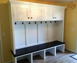Entry Way Bench And Shelf Custom Made Mudroom Entryway Bench And Storage Crosley Brennan