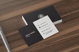 Minimal Design Business Cards Minimal Business Card Template Business Card Templates