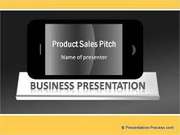 mobile sales pitch template