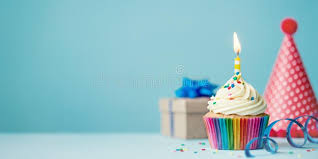 cupcake candles birthday cupcake with candle stock photo image of cupcake