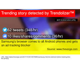 ad tracking android samsung s browser comes to all android phones and gets an ad