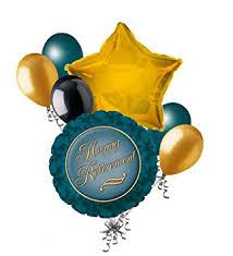 retirement balloon bouquet 7 pc retirement balloon bouquet appreciation