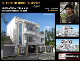 sketchup texture great free sketchup model white neoclassical