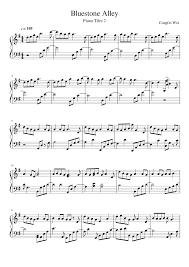 bluestone alley piano tiles 2 musescore