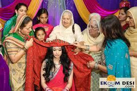 wedding chunni traditional punjabi wedding the cultural wedding of punjab