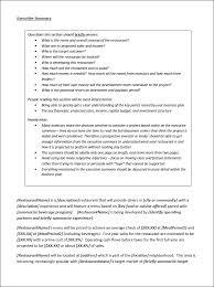 new restaurant business plan template plain text