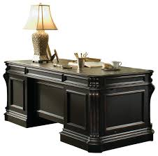 Panel Desk Hooker Furniture Telluride Wood Panel Executive Desk 563