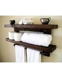 Wall Shelves For Bathroom Here S A Great Price On Floating Shelves Towel Rack Floating Shelf