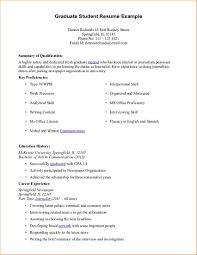 Example Of A Student Resume by Examples Of A Resume