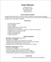 Example Of Cashier Resume by Cashier Resume Skills U2013 Resume Examples