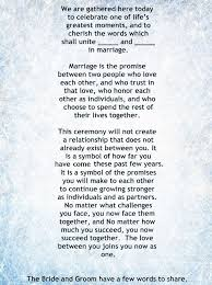 wedding ceremony quotes quotes about wedding my non religious and sweet wedding