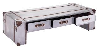 Coffee Tables With Drawers by Zuo Kant Wide Aluminum Coffee Table Coffee Tables