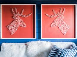How To Decorate Nails At Home 8 Stylish String Art Projects Hgtv U0027s Decorating U0026 Design Blog Hgtv