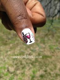 wine nail art wine glass draw glass with sharpie then add
