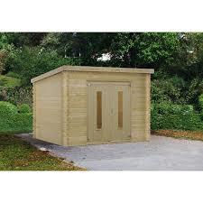abri jardin bambou awesome cabane de jardin sans dalle contemporary design trends