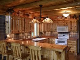 Cabin Kitchen Ideas Log Cabin Kitchen Decor Kitchen And Decor