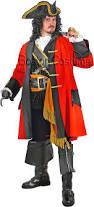 British Soldier Halloween Costume Pirate Man Costume Boston Costume