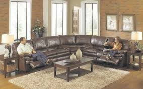 sectional sofa recliner modern style home design ideas