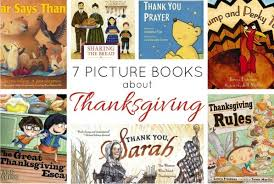 7 picture books to read about thanksgiving batch of books