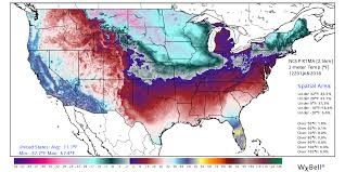 temperature map usa january u s average temperature plummets to 11 deg f roy spencer phd