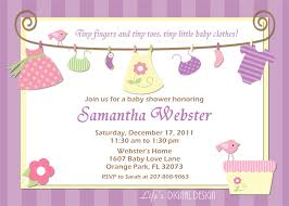 baby shower invitations for girls templates ideas u2014 anouk invitations