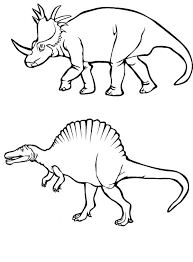 centrosaurus coloring pages dinosaurs pictures facts