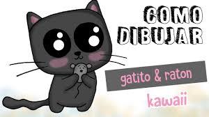imágenes de gatos fáciles para dibujar como dibujar gatito kawaii dibujo fácil para niños youtube