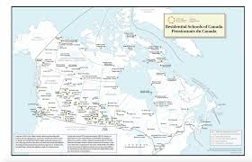 Map Of British Columbia Canada by Map Of Canadian Residential Schools U2013 Welcome