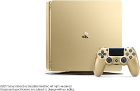 Home Design Games Ps4 Amazon Com Playstation 4 Slim 1tb Gold Console Discontinued
