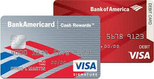 bank gift cards bank of america visa cardholders free 10 visa gift card when you