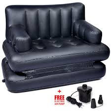 Air Bed Sofa Sleeper Buy Air Sofa Bed Black At Best Price In India On