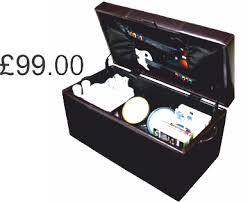 Rock Band Ottoman Gaming Equipment Storage Product Analysise 3