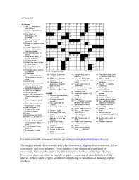 free printable crosswords for adults printable puzzles for