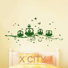 Owl Wall Decals Nursery online get cheap baby room wall decal tree aliexpress com