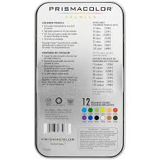 prismacolor pencils prismacolor premier colored pencils 12 assorted colored walmart