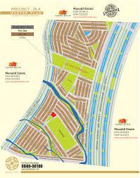 estate map bahria town karachi all precincts maps manahil estate