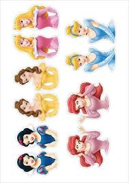 25 Unique Princess Cupcake Toppers Ideas On Pinterest Disney